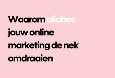Blog chliches online marketing