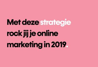 Blog strategie online marketing