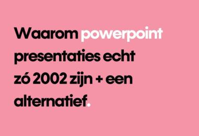 Blog PowerPoint alternatief