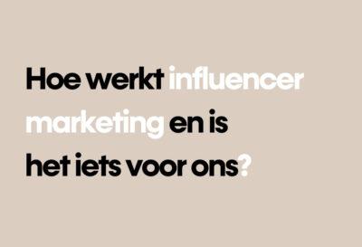 Blog influencermarketing